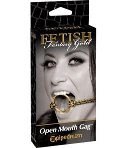 Gold Open Mouth Gag