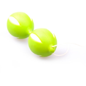 Green Color Smart Balls couples sex enhancers