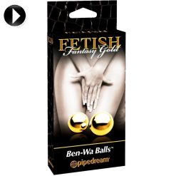 FETISH FANTASY GOLD BEN WA BALLS ridemesideways