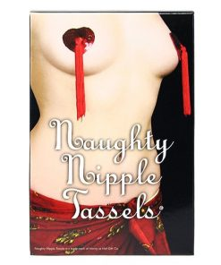 Red Hearts Nipple Tassels