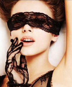 Sexy Black Lace Mask