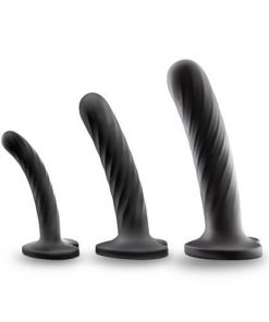 Twist Silicone Dildo Set